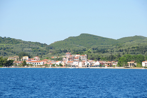 South area of Corfu